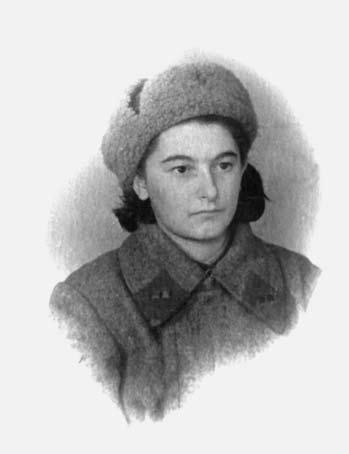 Hanna Podymachina vor Stalingrad